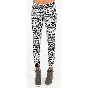 Les différentes sortes de pantalons à la mode ... legging-aztec-print-300x300